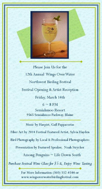 Wings over Water Invitation