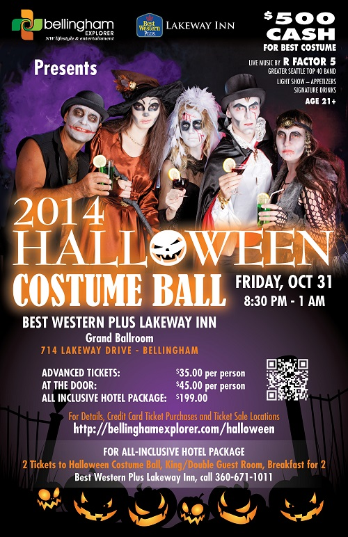 Bellingham Explorer Halloween Costume Ball