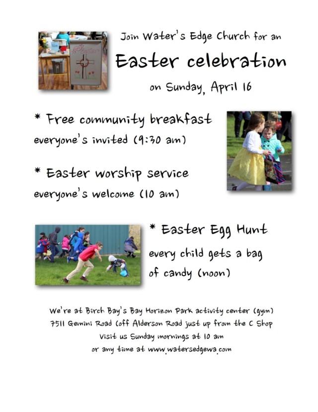 Easter 2017 flyer