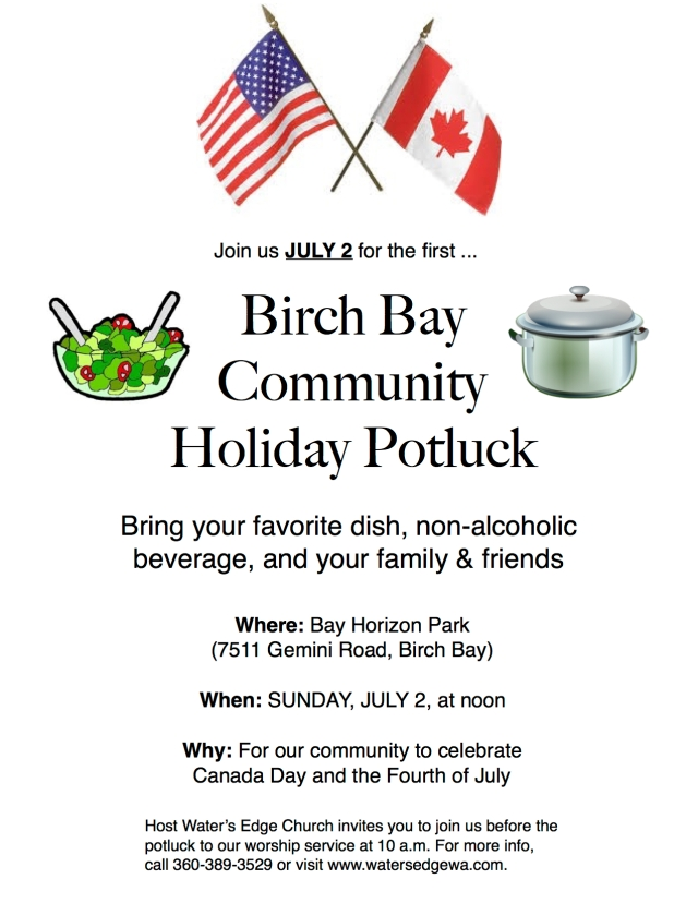 Holiday potluck flyer (JPEG)