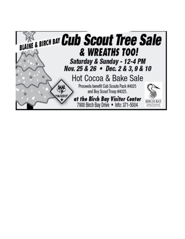 Tree sale