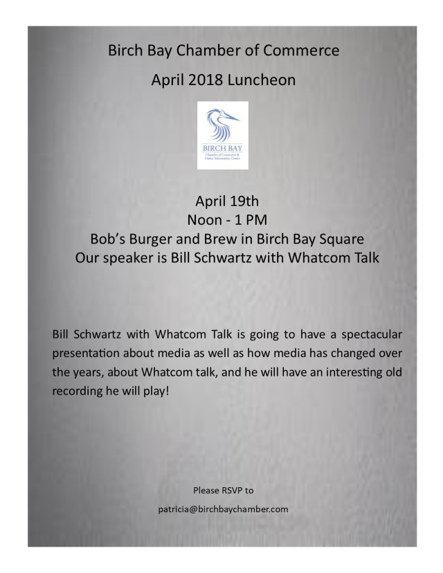 April 2018 luncheon flyer