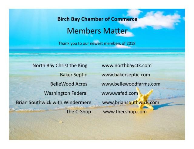 Members matter may