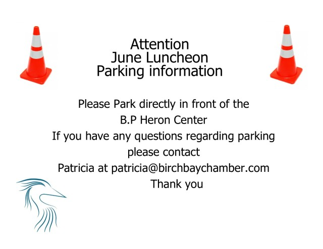 parking june luncheon
